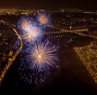Второй Международный фестиваль фейерверков Ростех. День второй
