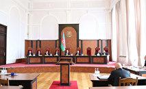 Заседание Конституционного суда Азербайджана