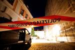 Absbaxdakı terror aktı yerində polis əməkdaşları işləyir