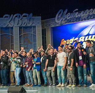 Сборная Баку – в числе победителей Международного Музыкального фестиваля команд КВН – Голосящий Кивин
