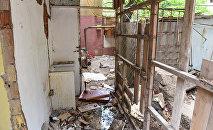 Начался снос здания, расположенного по улице Шарифзаде, 33 в Ясамальском районе