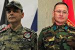 Generallar Cahit Bəkir və Şener Topuç