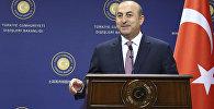 Мевлют Чавушоглу, министр иностранных дел Турции