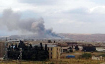Взрыв в заводе Араз в городе Ширван