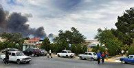 Взрыв в городе Ширван на заводе Араз Министерства оборонной промышленности