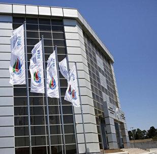 Здание АФФА в Баку, фото из архива