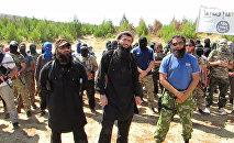 Азербайджанцы, воюющие в Сирии. Архивное фото