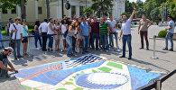 42-ci Ümumdünya Şahmat Olimpiadasına həsr olunan 3D street-art tablosu