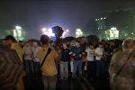 Акция протеста в поддержку группировки Сасна Црер
