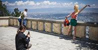 Tbilisidə turistlər
