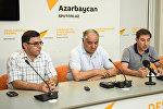 Bu gün Sputnik Beynəlxalq Mətbuat Mərkəzində, Azərbaycan dilindəki yeniliklər: problem, yoxsa inkişaf mövzusunda konfrans keçirilib