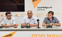 Пресс-конференция Новшества в азербайджанском языке: проблема или прогресс