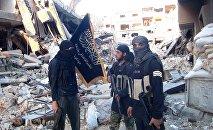 Боевики Джебхат-ан Нусра. Архивное фото