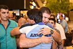 Проводы азербайджанских олимпийцев