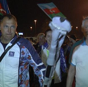 Под национальную музыку олимпийцев Азербайджана проводили в Рио