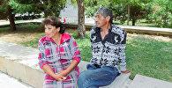 Адиль и Махаббат живут в парке Azadlıq вот уже месяц