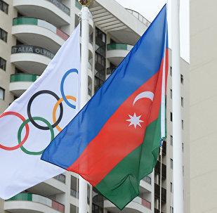 В Олимпийской деревне в Рио-де-Жанейро был поднят флага Азербайджана