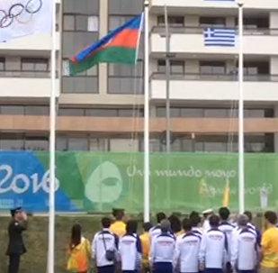 Азербайджанский флаг торжественно поднят в Рио-де-Жанейро
