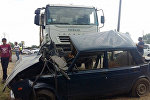 Ələt-Astara magistral yolunun 199-cu kilometrliyində ağır avtomobil qəzası baş verib