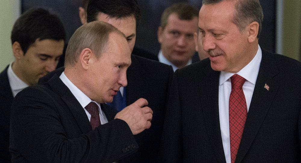 Cumhurbaşkanı Recep Tayyip Erdoğan ve Rusya Devlet Başkanı Vladimir Putin