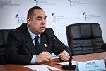 Luqansk Xalq Respublikası separatçılarının lideri İqor Plotnitski