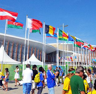 Rio-de-Janeyroda keçirilən XXXI Yay Olimpiya Oyunlarının ikinci günü