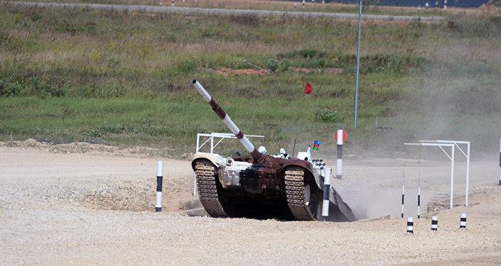 Азербайджанские танкисты заняли 5-е место порейтингу насоревнованиях по«танковому биатлону»