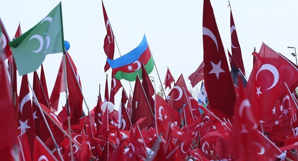 """İstanbulun Yeniqapı"""" meydanında mitinq"""