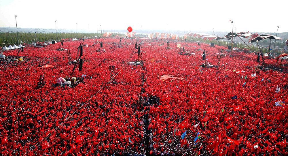 İstanbul Yeniqapı mitinqi