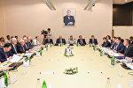 Участники азербайджано-российского бизнес-форума в Баку. 8 августа 2016 года