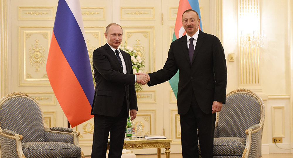 Image result for İlham Əliyev Putin