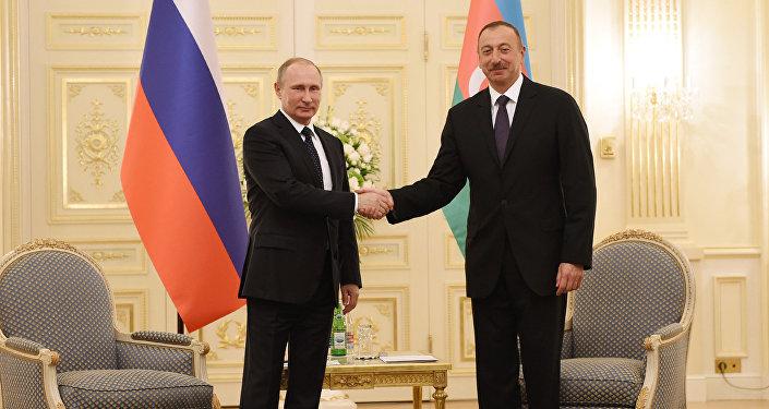 Azərbaycan və Rusiya prezidentləri