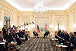 Встреча президентов Азербайджана и России Ильхама Алиева и Владимира Путина. Баку, 8 августа 2016 года