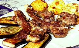 Рецепт дашарасы кябаб, или шашлыка между камней