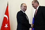 Rusiya və Türkiyə prezidentlərinin Sankt-Peterburq görüşü
