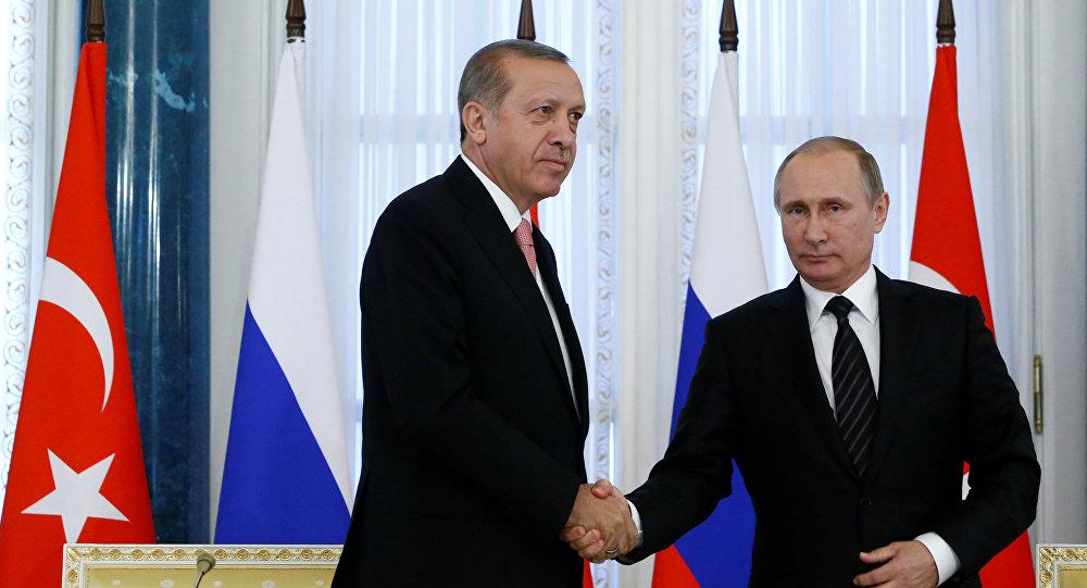 Rusiya və Türkiyə prezidentlərinin Sankt-Peterburq görüşü. 9 avqust 2016-cı il