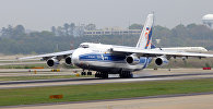 Транспортный самолет АН-124-100 Руслан. Архивное фото