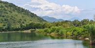 Озеро Нохур гель в Габалинском районе