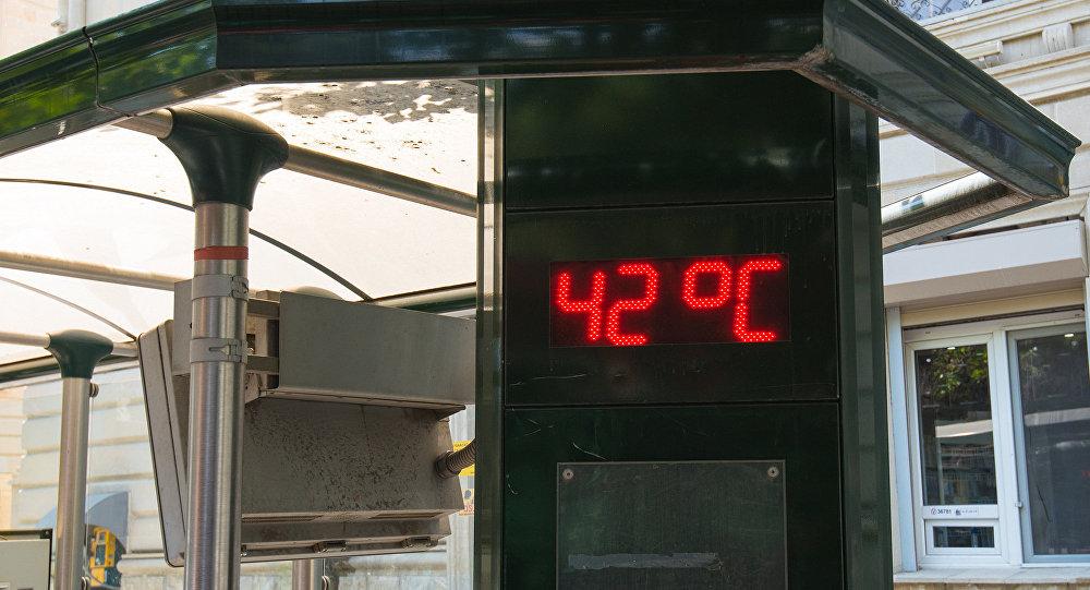 Завтра вАзербайджанской столице будет до36 градусов тепла