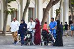 Bakıdakı ərəb turistlər