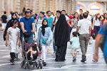 Bakıda ərəb turistlər