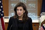 ABŞ Dövlət Departamentinin sözçüsü Elizabet Trudo