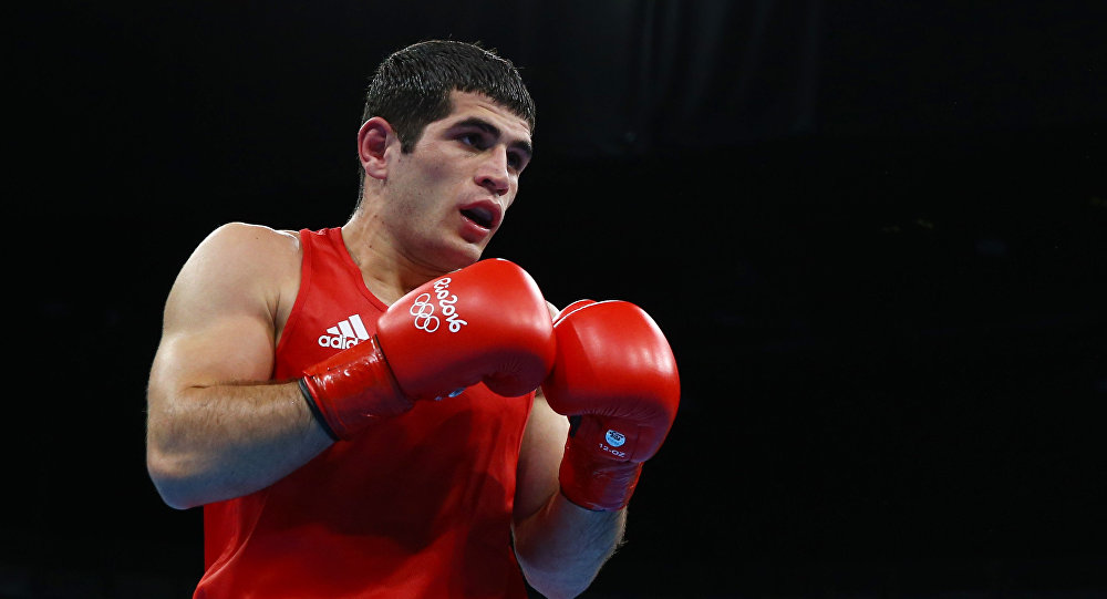 Азербайджанский боксер Камран Шахсуварлы