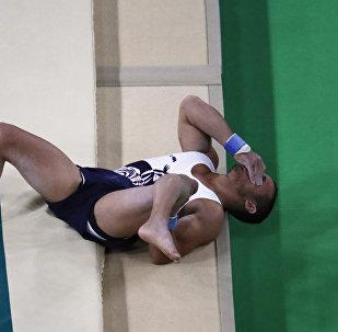 Французский гимнаст Самир Аита Саид