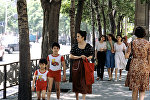 На одной из улиц города Баку. 1982 год
