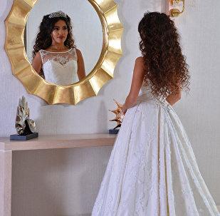 Ляман Ахмедова, участница из Азербайджана в образе невесты