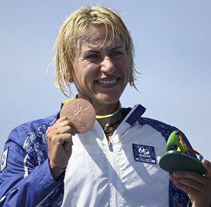Азербайджанская спортсменка Инна Осипенко