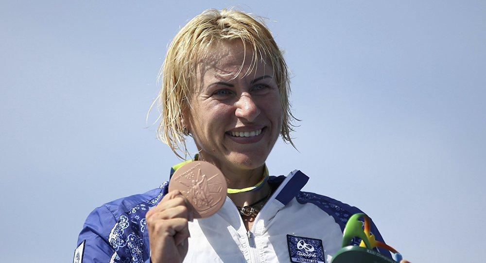 Украинская спортсменка выиграла бронзу вРио для сборной Азербайджана