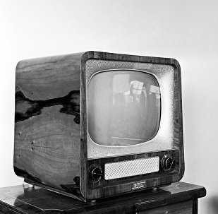 Советский телевизор Рубин