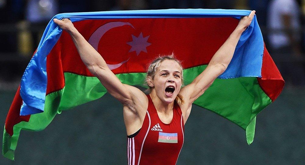 Олимпиада 2016: Львовянка Стадник завоевала серебро для Азербайджана ввольной борьбе